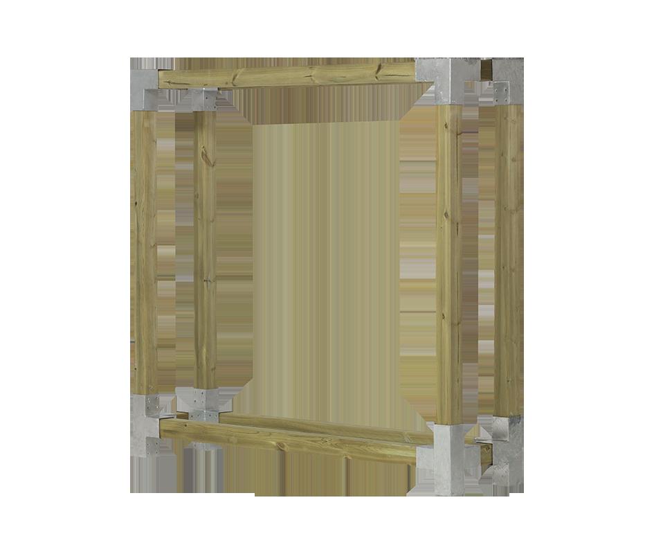 Image of   Cubic brænderumdeler - D:50cm H:188cm B: 206cm - trykimp.