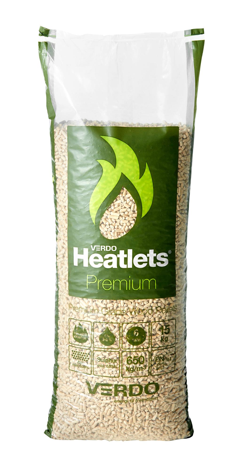 Image of   Heatlets premium 6 mm træpiller