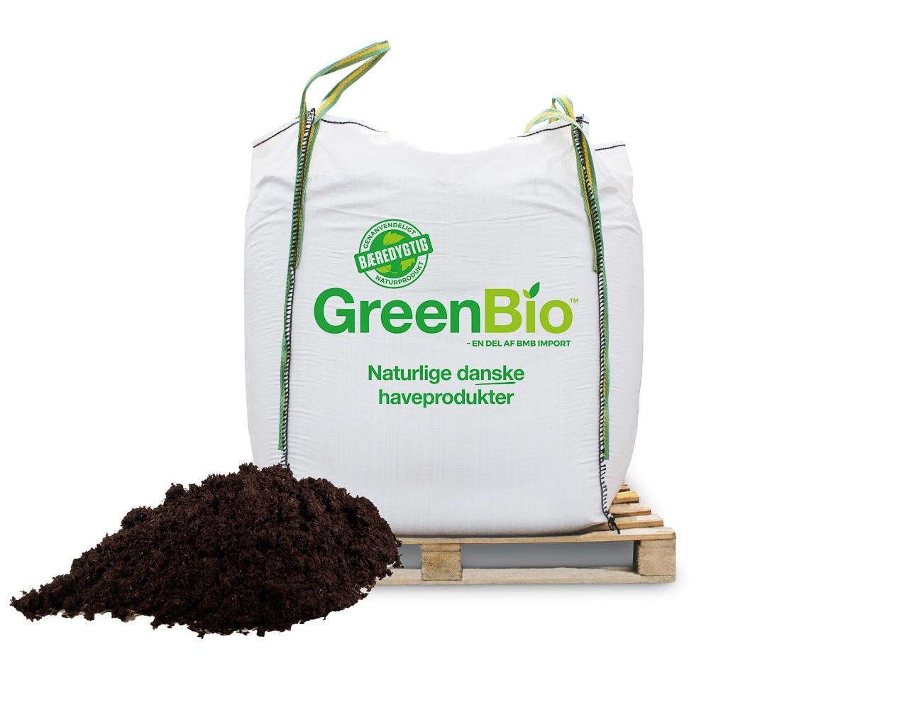 Image of   GreenBio Fibergødning - bigbag á 1000 liter