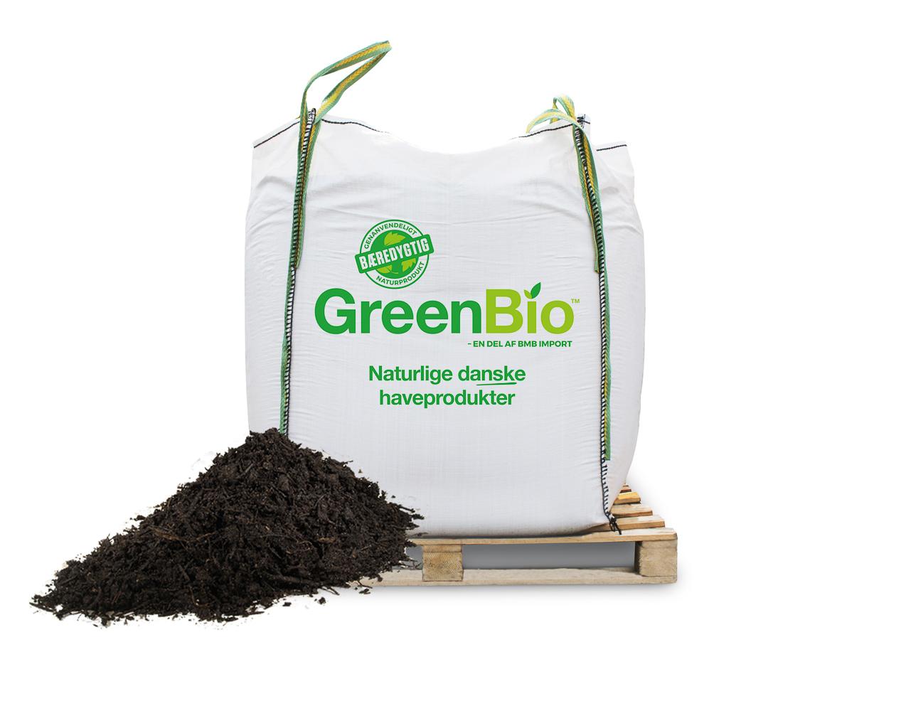 Image of   GreenBio Biokompost - bigbag á 1000 liter