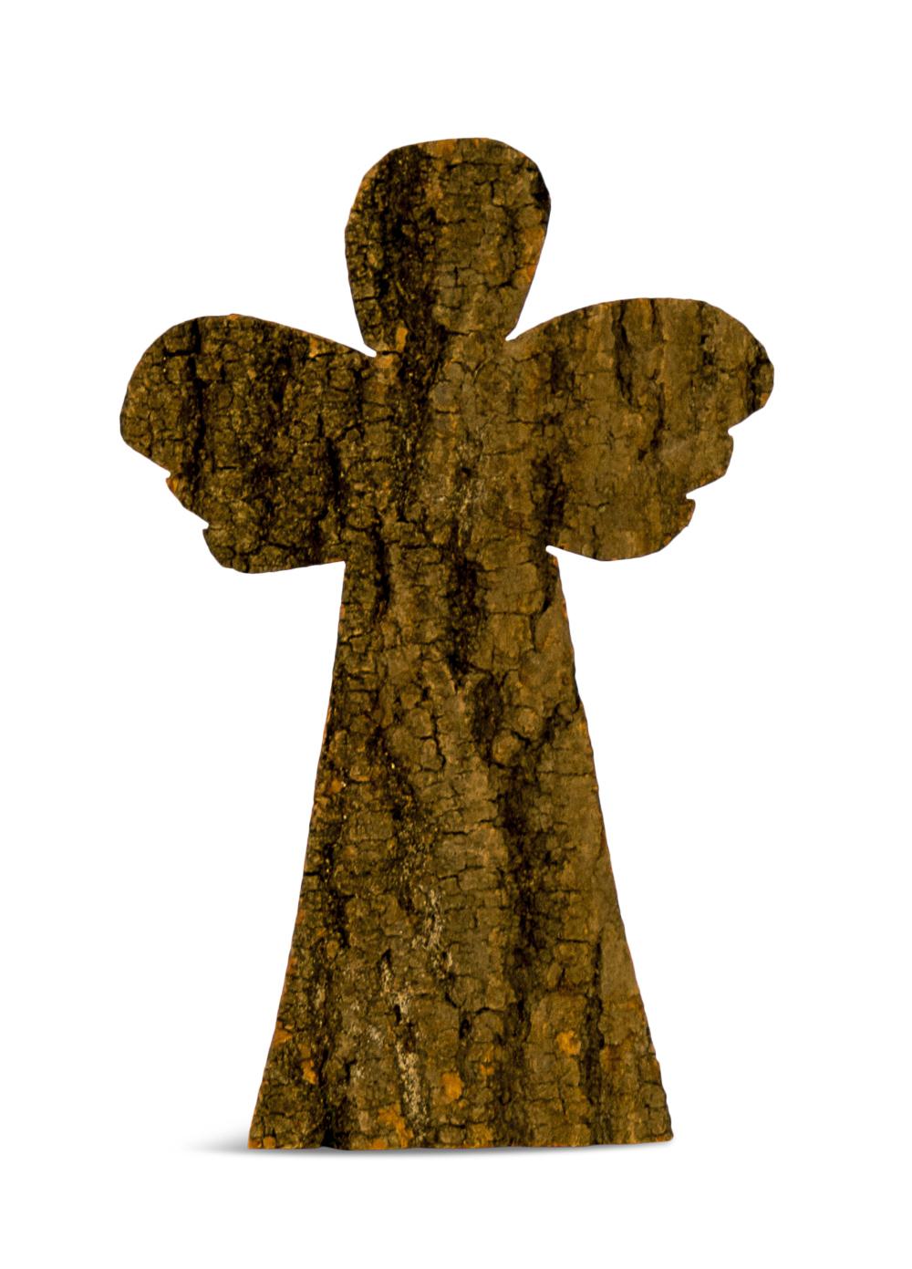 Image of   Engel i træ.