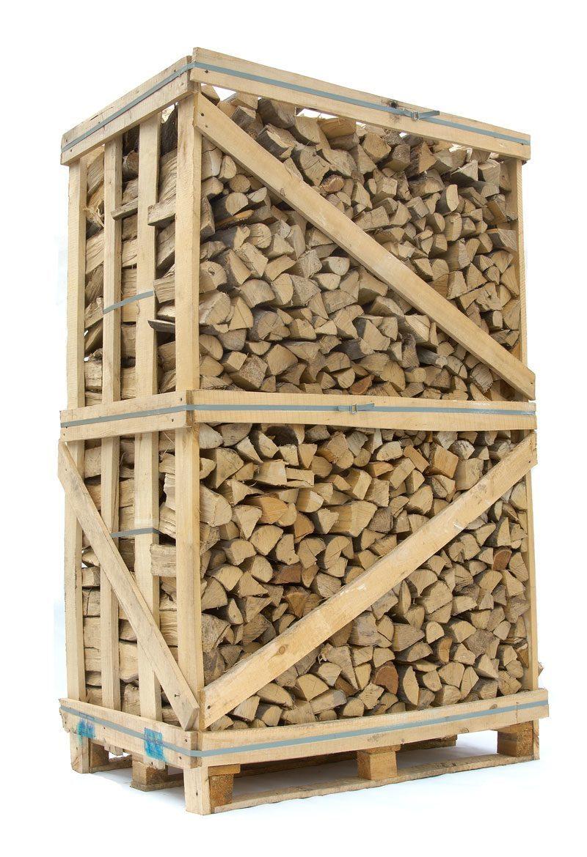 Image of   Lufttørret Avnbøg - stablet brænde