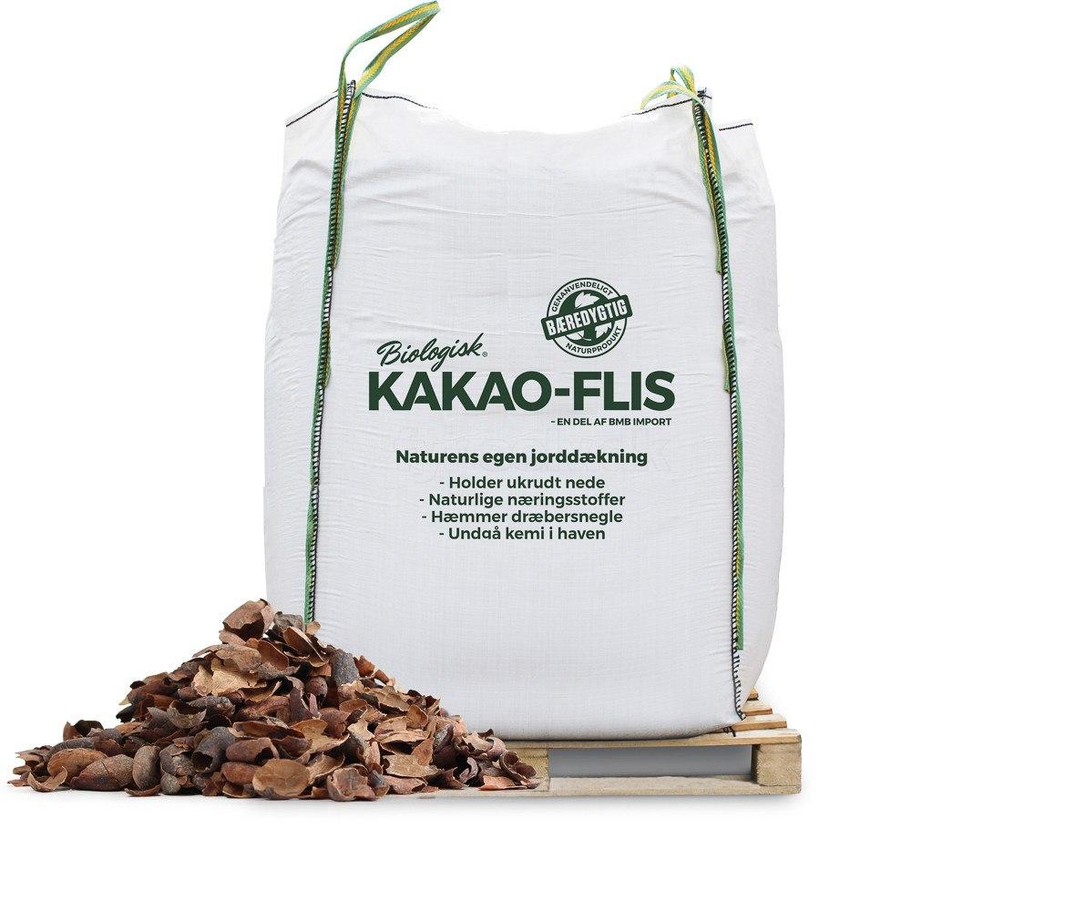 Kakao-flis - bigbag á 2000 liter