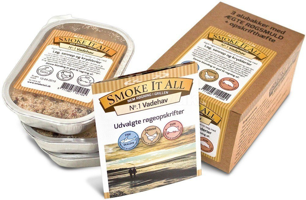 SmokeItAll Røgsmuld pakke - indeholdende