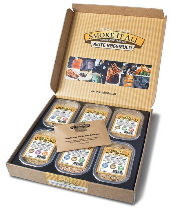 Smoke It All - Sixpack gaveæske
