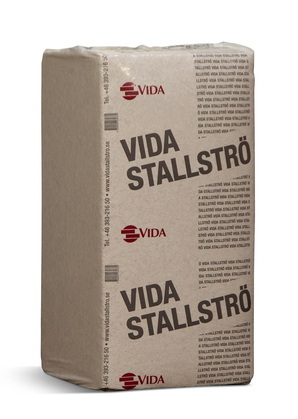 Afhentning Tjæreborg - Vida strø-spåner til heste - 25 kg.