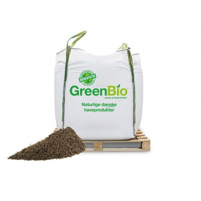 GreenBio Plænedress / Topdressing - Bigbag á 1000 liter.