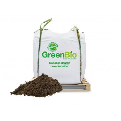 GreenBio Rosenjord - Bigbag á 1.000 liter