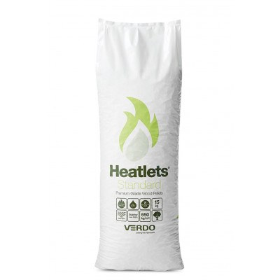 Heatlets standard 6 mm træpiller