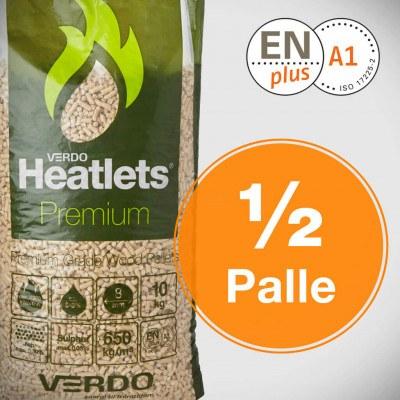 Heatlets Premium 6mm træpiller - 1/2 palle