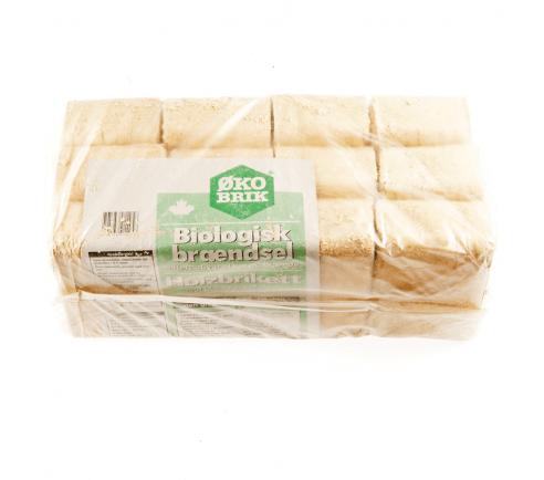 Prøvepakke - ØKO-BRIK briketter - 10 kg.