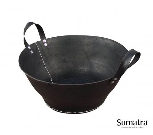 Brændekurv m/ hank - medium Plus