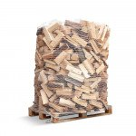 Dansk Brændeovnsbrænde - Lufttørret Nåletræ