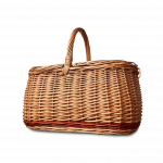 Flettet picnickurv
