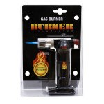 Gas burner fire starter - lighter