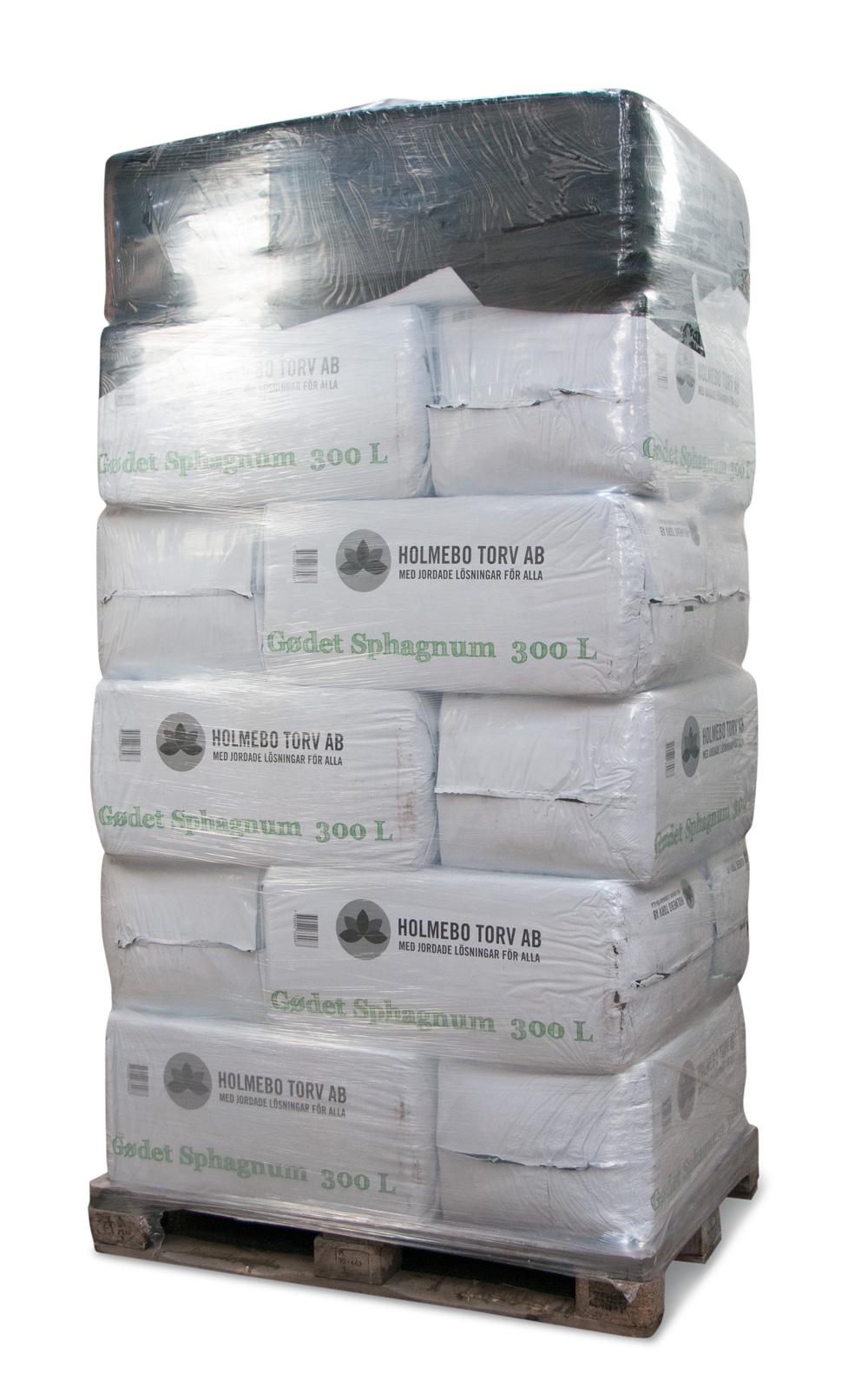 Image of   Gødet spagnum - 18 poser á 300 liter