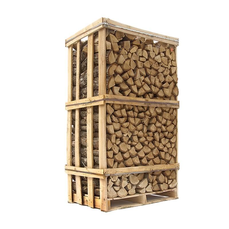Image of   Ovntørret Eg - tørt stablet egebrænde