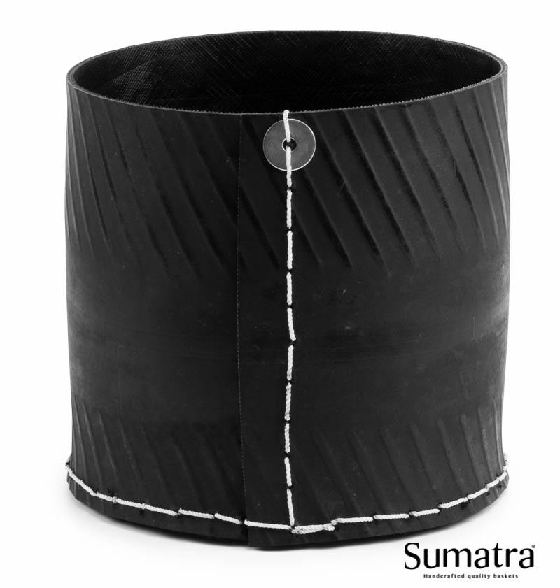 Image of   Mini brændekurv, Sumatra Ø21 x H20 cm